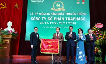 Traphaco Joint Stock Company celebrated46th CompanyAnniversary