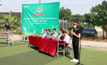 Traphaco sports festival celebrates 46 years anniversary